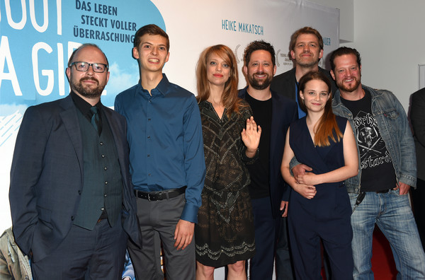 Guests Attend the 'About a Girl' German Premiere