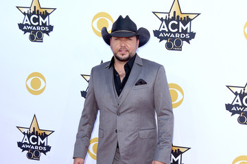 Jason Aldean 50th Academy Of Country Music Awards - Arrivals