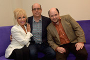 """Christopher Ashley,Pamela Shaw and Jason Alexander attend """"Lucky Stiff"""" opening at the 29th Annual Fort Lauderdale Film Festival at Amaturo Theater on November 7, 2014 in Fort Lauderdale, Florida."""