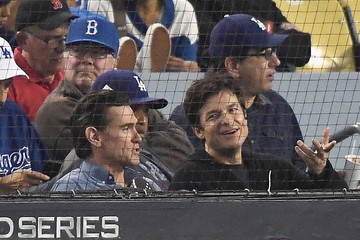 Jason Bateman World Series - Boston Red Sox v Los Angeles Dodgers - Game Five