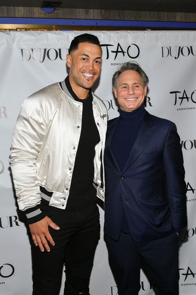 Giancarlo Stanton Celebrates DuJour Magazine Cover