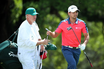 Jason Day Colin Swatton The Masters - Round Two
