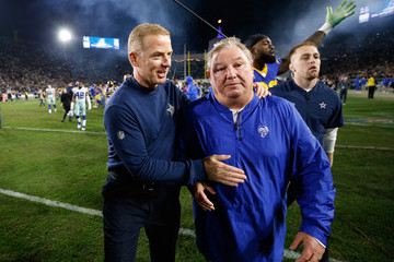 Jason Garrett Divisional Round - Dallas Cowboys v Los Angeles Rams
