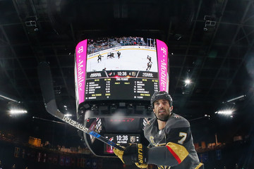Jason Garrison Arizona Coyotes v Vegas Golden Knights