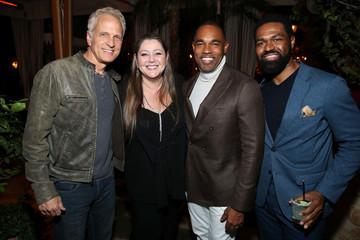 Jason George Entertainment Weekly Celebrates Screen Actors Guild Award Nominees at Chateau Marmont - Inside