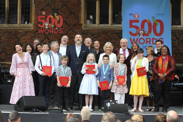 Jason Issacs The Duchess Of Cornwall Attends The 500 Words Final