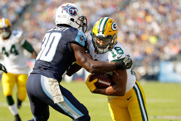 Jason McCourty Green Bay Packers v Tennessee Titans