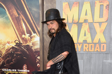 Jason Momoa Premiere Of Warner Bros. Pictures' 'Mad Max: Fury Road' - Arrivals