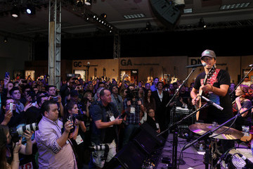 Jason Mraz 2014 NAMM Show - Day 3