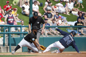 Jason Rogers Pittsburgh Pirates v Atlanta Braves
