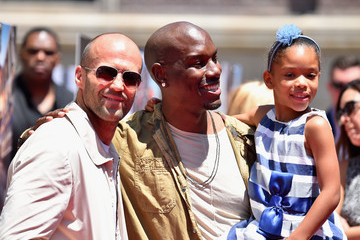 Jason Statham Celebs Attend the Premiere Press Event for the New Universal Studios Hollywood Ride 'Fast & Furious-Supercharged'