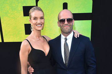 Jason Statham Rosie Huntington-Whiteley Warner Bros. Pictures And Gravity Pictures' Premiere Of 'The Meg' - Red Carpet