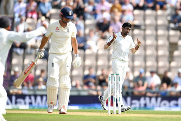 Jasprit Bumrah England vs. India: Specsavers 4th Test - Day Three