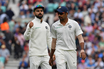 Jasprit Bumrah England vs. India: Specsavers 5th Test - Day Two