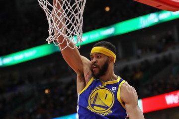 Javale Mcgee Golden State Warriors v Chicago Bulls