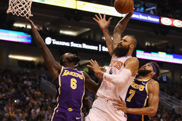Javale Mcgee Los Angeles Lakers vs. Phoenix Suns