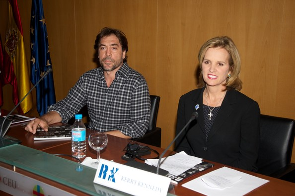 Javier Bardem at a Kennedy Center Press Event