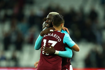 Javier Hernandez West Ham United v Bolton Wanderers - Carabao Cup Third Round
