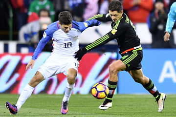 Javier Hernandez Mexico v United States - FIFA 2018 World Cup Qualifier