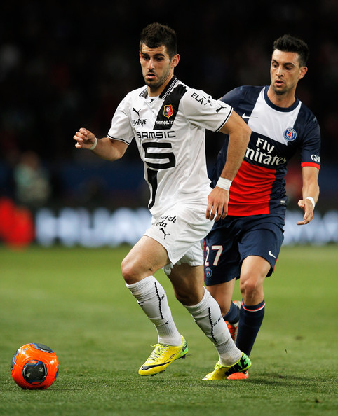 Javier Pastore: Javier Pastore And Nelson Miguel Castro Oliveira Photos