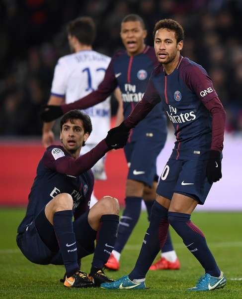 Image result for Javier Pastore with neymar