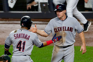 Jay Bruce Divisional Round - Cleveland Indians v New York Yankees - Game Four