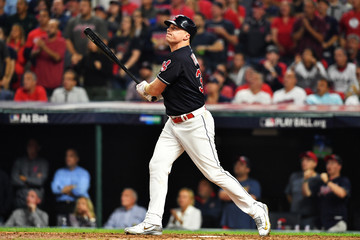 Jay Bruce Divisional Round - New York Yankees v Cleveland Indians - Game Two