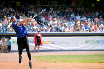 Jay Cutler 28th Annual City Of Hope Celebrity Softball Game - Game