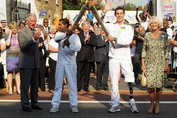 Jay Kamiraz The Olympic Torch Continues Its Journey Around London