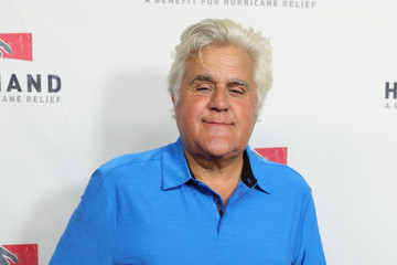 Jay Leno Hand in Hand: A Benefit for Hurricane Relief - Los Angeles - Press Room