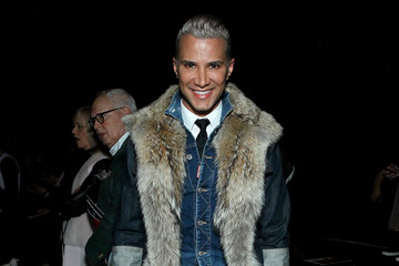 Jay Manuel Bibhu Mohapatra - Front Row - Fall 2016 New York Fashion Week: The Shows