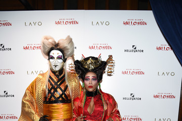 Jay Manuel June Ambrose Heidi Klum's 16th Annual Halloween Party sponsored by GSN's Hellevator and SVEDKA Vodka At LAVO New York - Arrivals