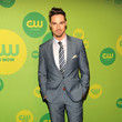 Jay Ryan Celebs Arrive at the CW Upfront Event in NYC