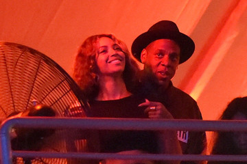 Jay-Z Beyonce Knowles American Eagle Outfitters Celebrates The Budweiser Made In America Music Festival - Los Angeles, CA - Day 2