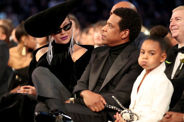 Jay-Z Blue Ivy Carter 60th Annual GRAMMY Awards - Roaming Show