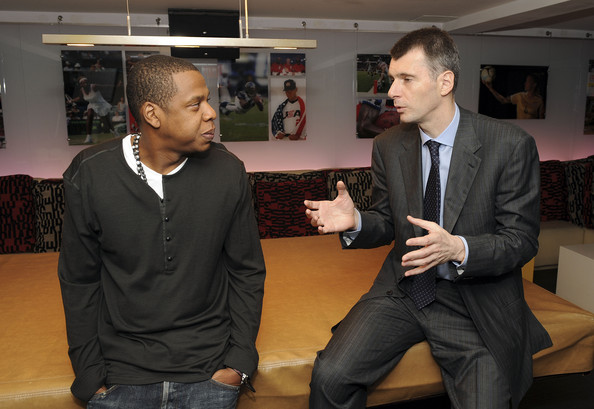 huge selection of 15d41 cf9e8 Jay Z Photos Photos - New Jersey Nets Owner Mikhail ...