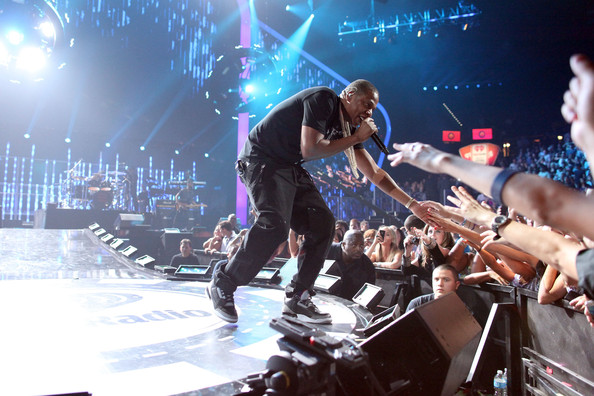 Jay-Z Jay-Z performs onstage at the iHeartRadio Music Festival held at the MGM Grand Garden Arena on September 23, 2011 in Las Vegas, Nevada.