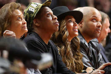 Jay Z Cleveland Cavaliers v Los Angeles Clippers