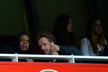 Jay-Z Arsenal v Manchester United - Premier League
