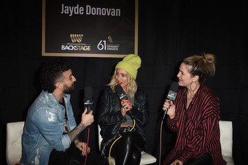 Jayde Donovan 61st Annual Grammy Awards - Westwood One Radio Roundtables