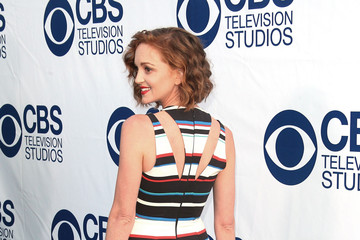 Jayma Mays Arrivals at the CBS Summer Soiree