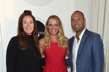 Jaymee Messler Derek Jeter, Caroline Wozniacki, And The Players' Tribune Celebrate Women In Sports And The 2015 U.S. Open