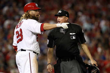 Jayson Werth Divisional Round - Chicago Cubs v Washington Nationals - Game One