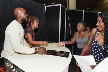 Jaz Sinclair 'When the Bough Breaks' Cast Members Morris Chestnut And Jaz Sinclair At The 2016 Essence Festival
