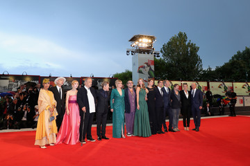 Jean-Claude Carriere 'At Eternity's Gate' Red Carpet Arrivals - 75th Venice Film Festival