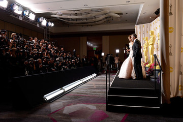 Jean Dujardin 85th Annual Academy Awards - Press Room