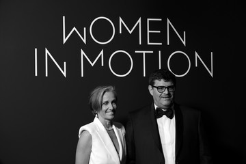 Jean-Francois Palus Angelina Palus Kering Women In Motion Awards Photocall - The 74th Annual Cannes Film Festival