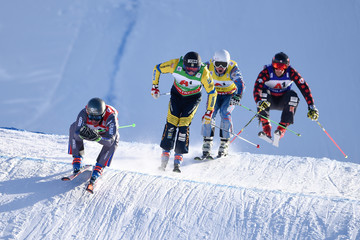 Jean Frederic Chapuis FIS Freestyle Ski World Cup - Men's and Women's Ski Cross
