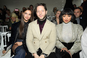 (L-R) Irina Shayk, Derek Blasberg and Kate Graham attend the Jean-Paul Gaultier Haute Couture Spring Summer 2019 show as part of Paris Fashion Week on January 23, 2019 in Paris, France.