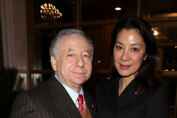 Jean Todt Michelle Yeoh Previews - Winter Olympics Day -1
